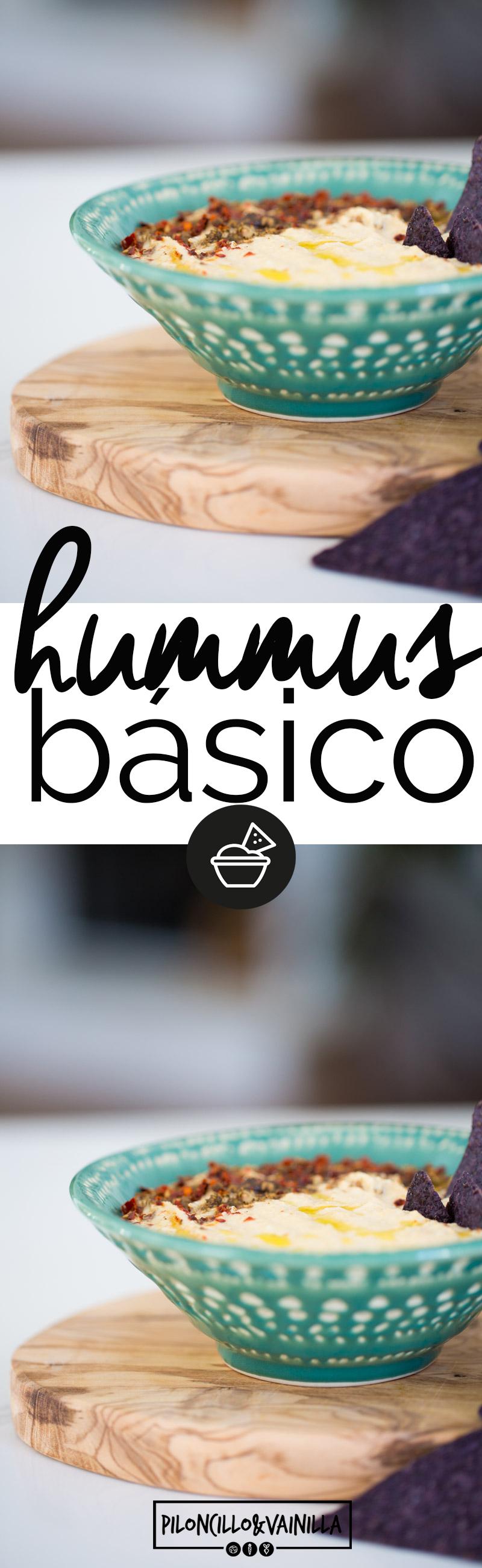 La receta más fácil del mundo. Receta de hummus básico, hummus clásico,  en 10 minutos o menos, con esta receta no vas a volver a comprar uno nunca jamás. #recetavegana #recetavegetariana, #recetasaludable, #vegano