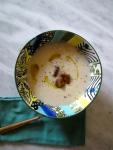 sopa coliflor con mostaza