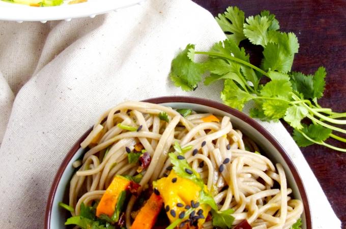 Soba noodles con  poderes