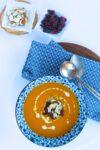 Sopa de zanahoria y gengibre/@piloncilloyvainilla.com