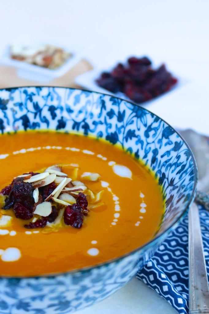 Sopa de gengibre y zanahoria/@piloncilloyvainilla.com