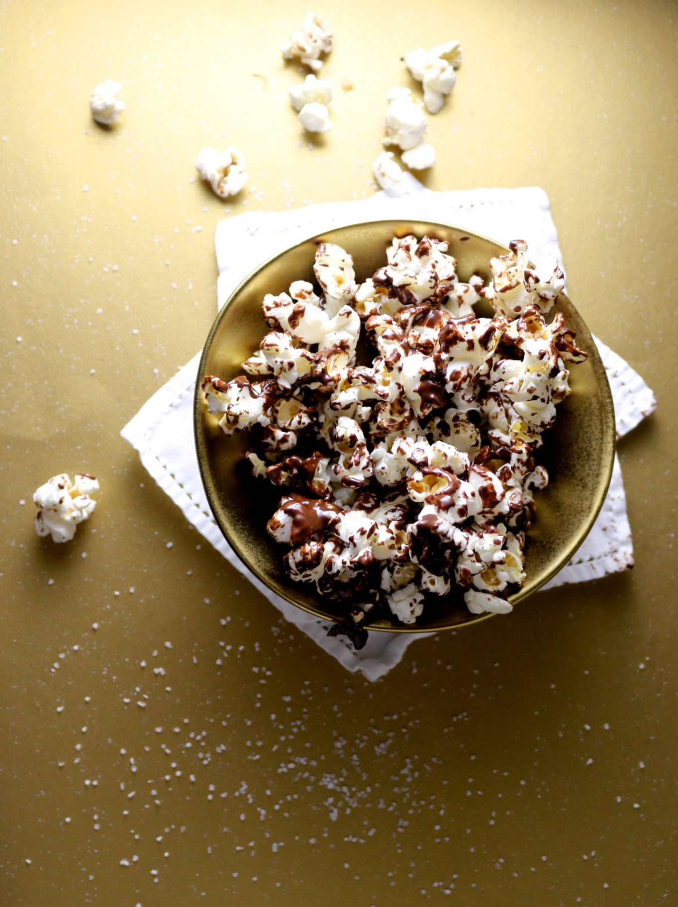 Palomitas con chocolate