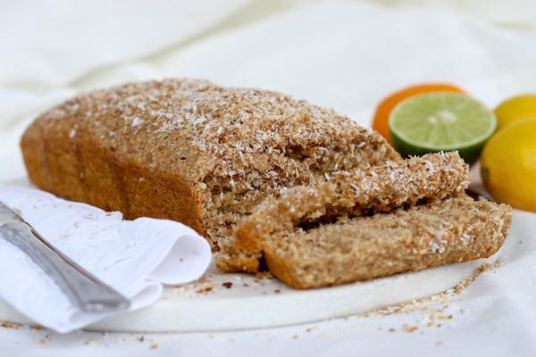 Pan de coco y limón