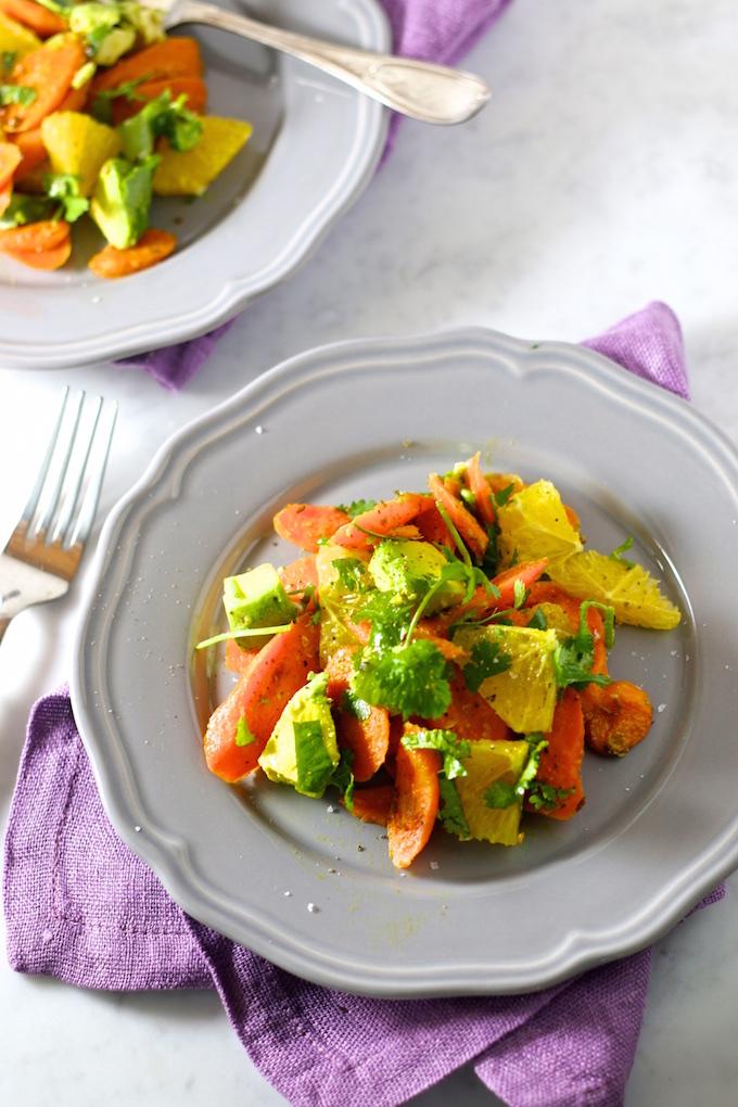 Ensalada de zanahoria rostizada (3)