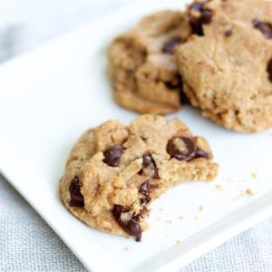 Galleta sencillas de chocolate chips vegana, deliciosa y super fácil de hacer.