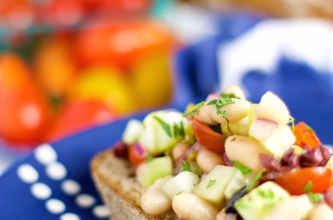 Ensalada de verano o ensalada para picnic