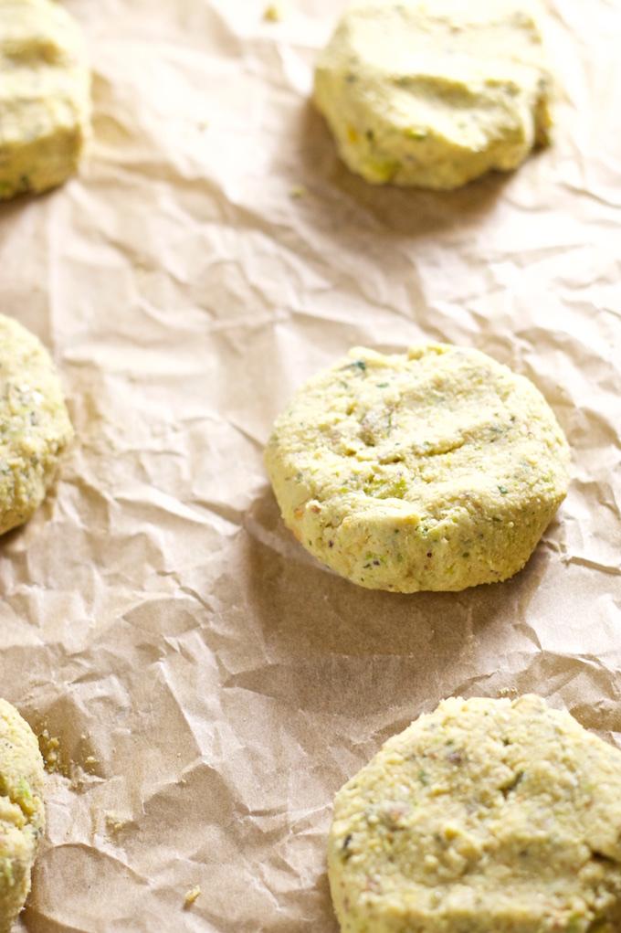 Falafel de pistache /piloncilloyvainilla.com