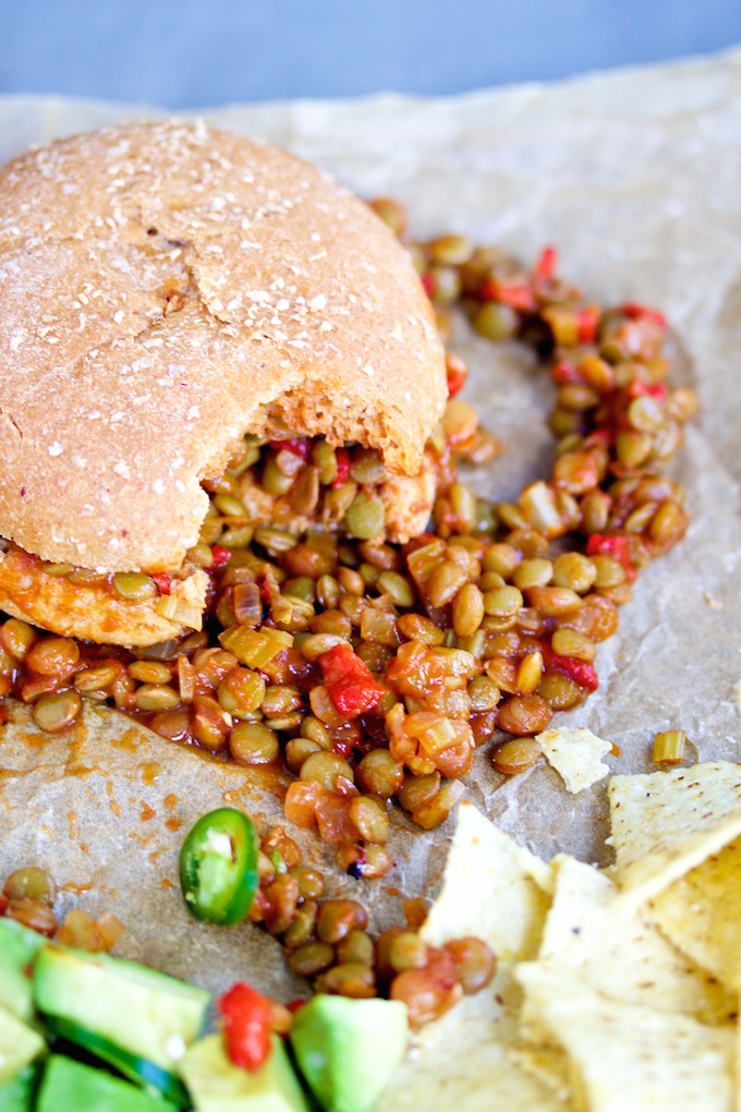 Vegan sloppy joes @piloncilloyvainilla.com