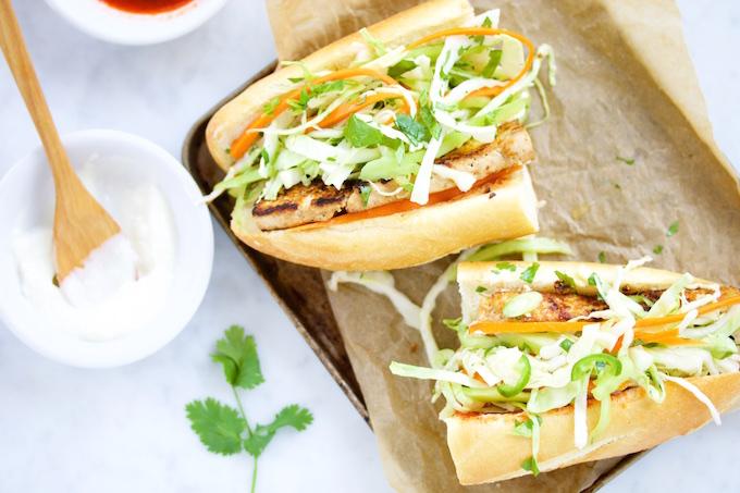 Banh mi, sandwich Vietnamese