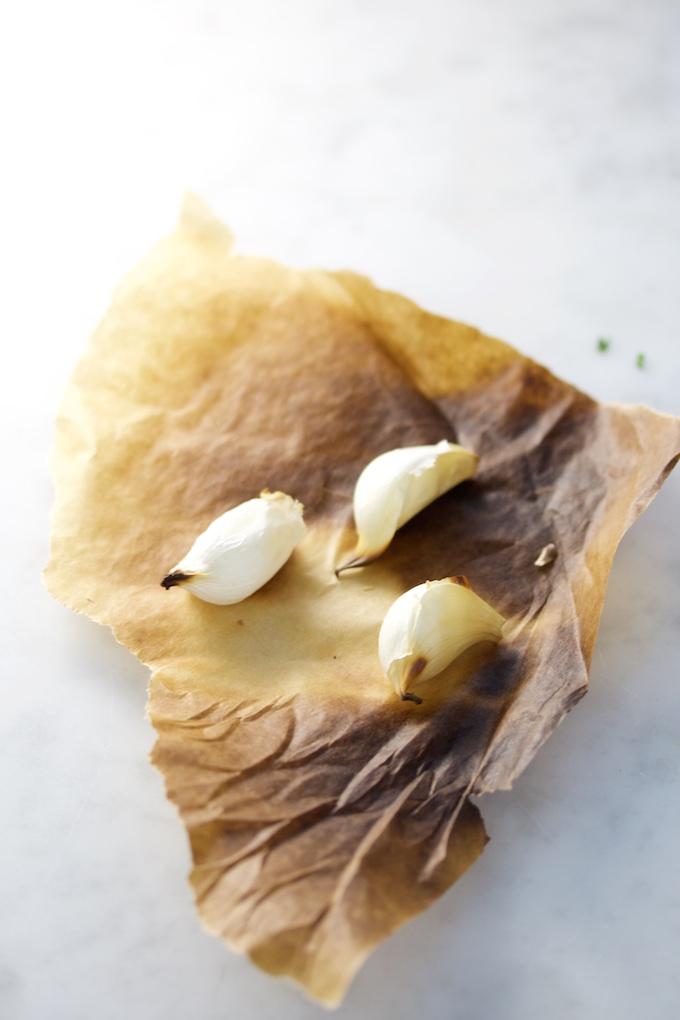 Hummus con menta.P&V.#vegan