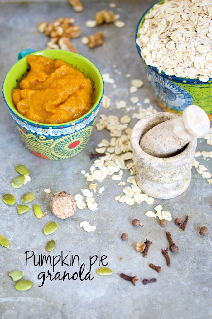 Pumpkin pie granola.p&v