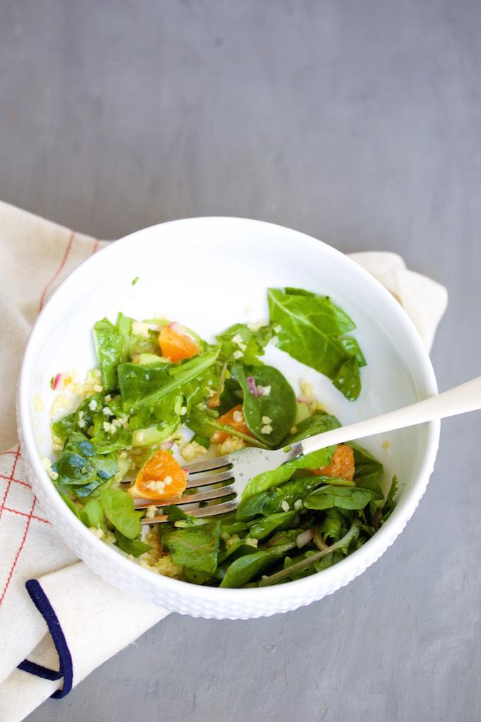 Ensalada de mandarina con aderezo con jalapeño (7)