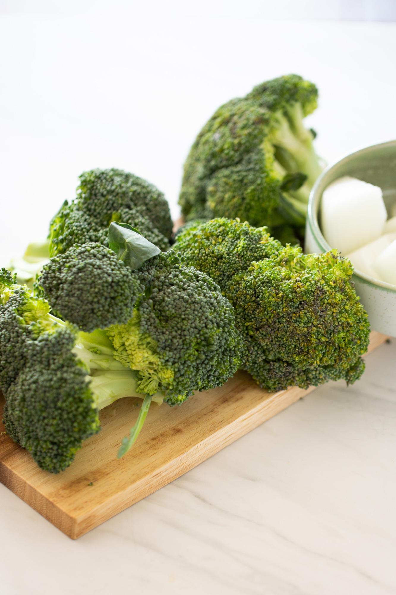 brocoli crudo