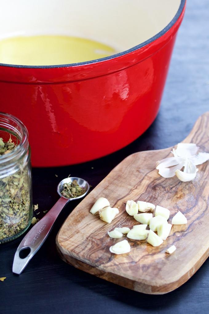 Crema de tomate y chipotle.P&V