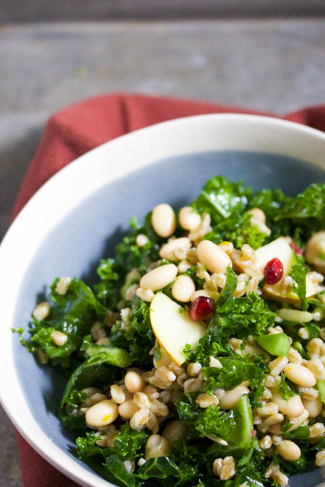 Kale y farro salad.P&V
