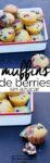 Berry sugarless muffins vegan recipe for breakfast or brunch
