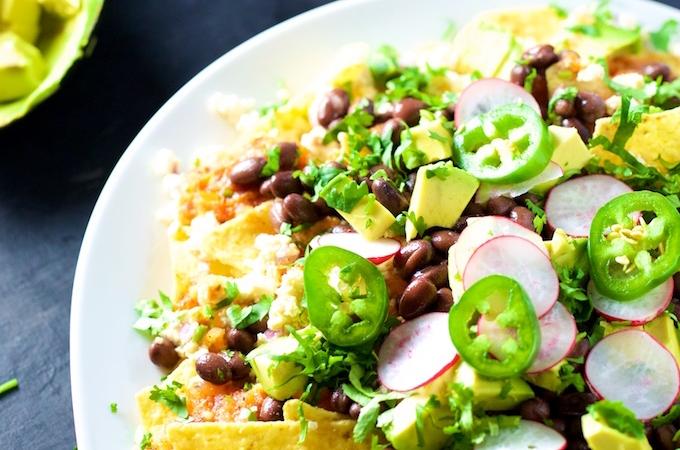 Chilaquiles o nachos, tu decide