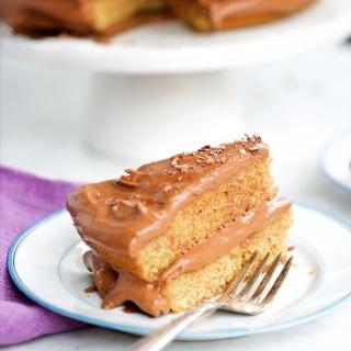 Pastel de naranja con betún de chocolate.piloncilloyvainilla.com (1)