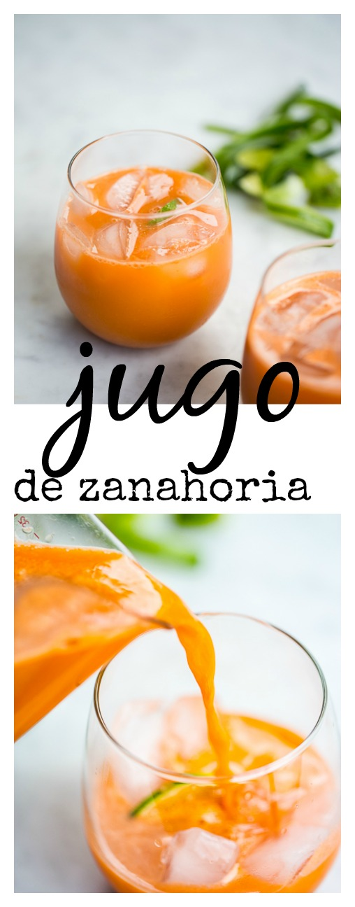 REceta de jugo de zanahoria super poderoso para evitar refriados de invierno.