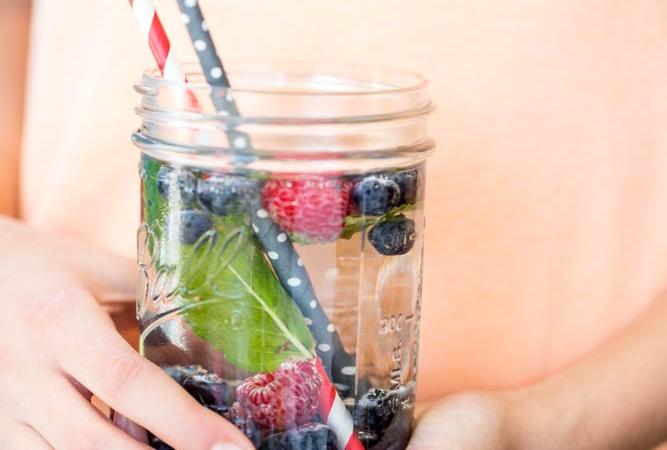 Agua, infusiones para hidratarnos