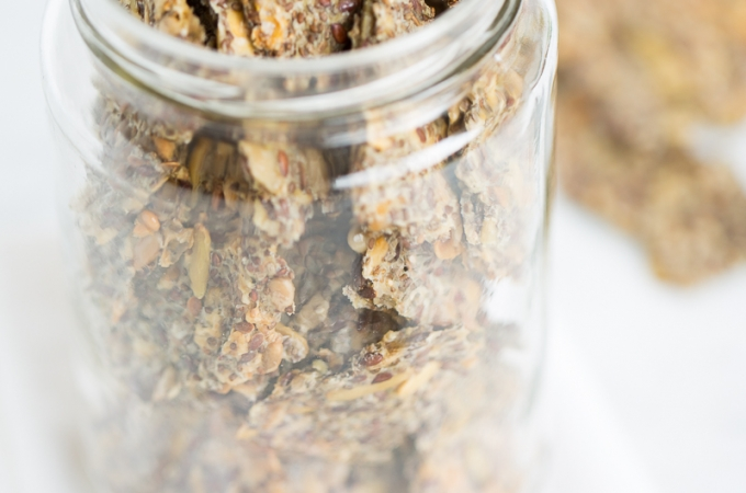 Galletas de chia y otras semillas