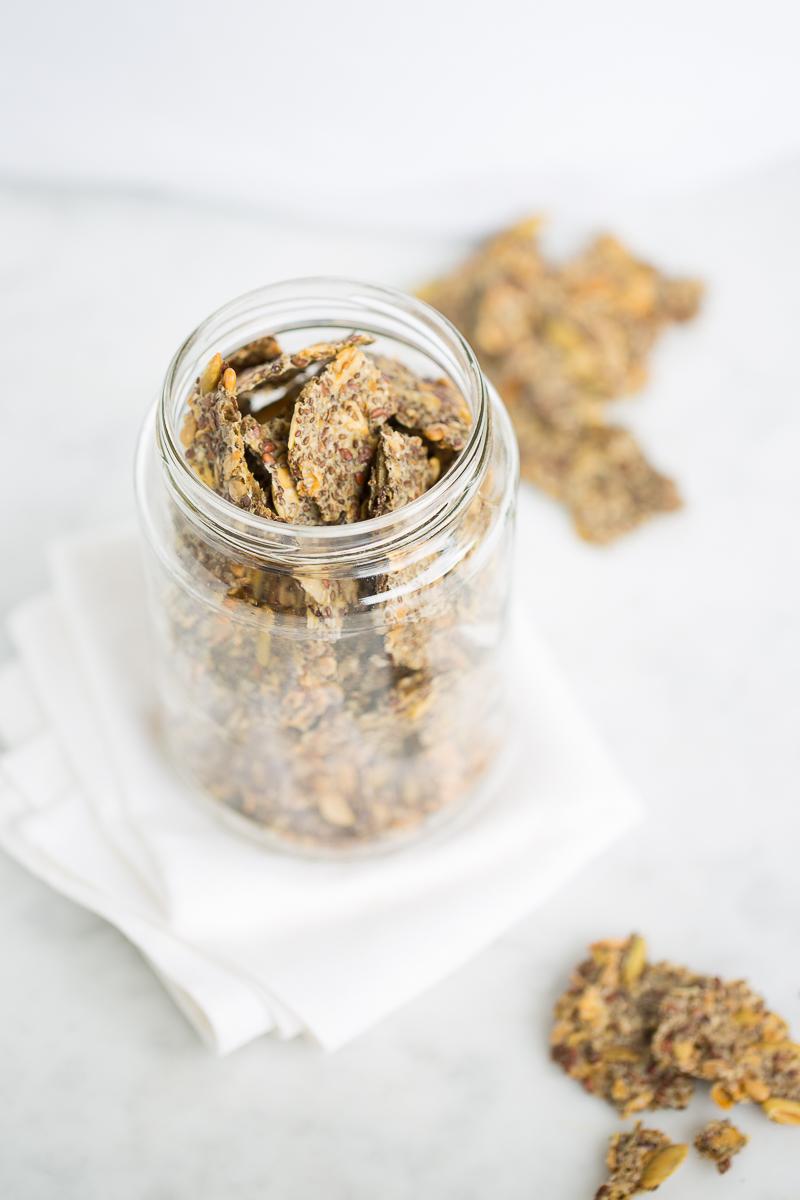 Galletas de chia y semillas