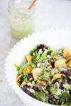 Aderezo de cilantro, cremoso y delicioso en sólo cinco minutos.