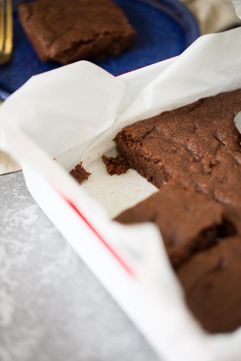 Molde con pan de chocolate