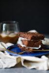 Brownies vegan hechos en casa, en dos simples pasos.