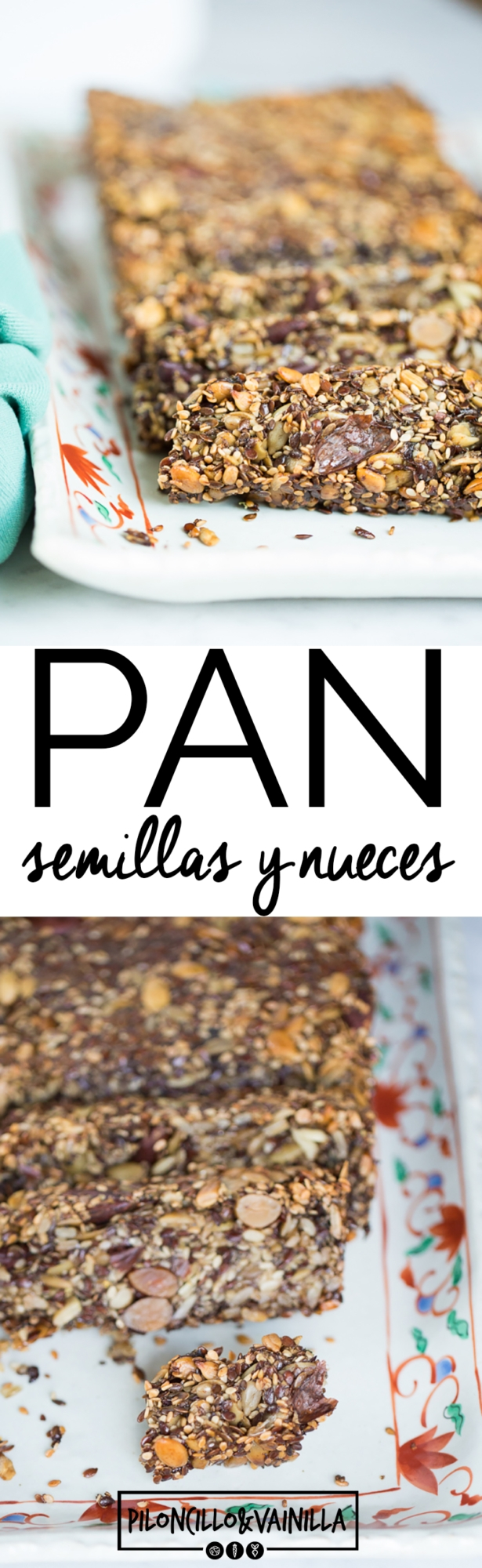 pan de semillas y nueces