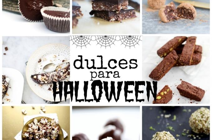 Dulces mas sanos para Halloween