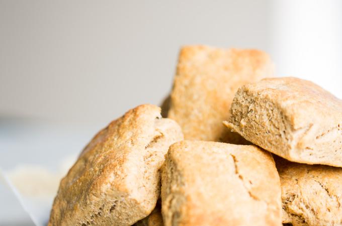 Biscuits hechos en casa
