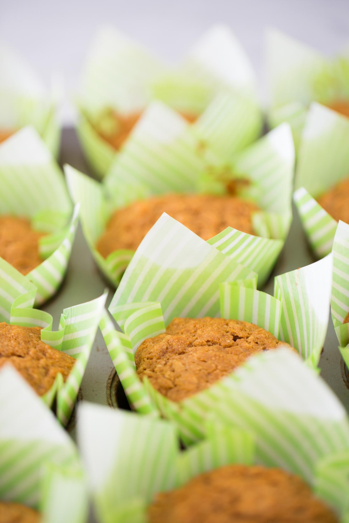 Muffins de avena, perfecto desayuno para llevar