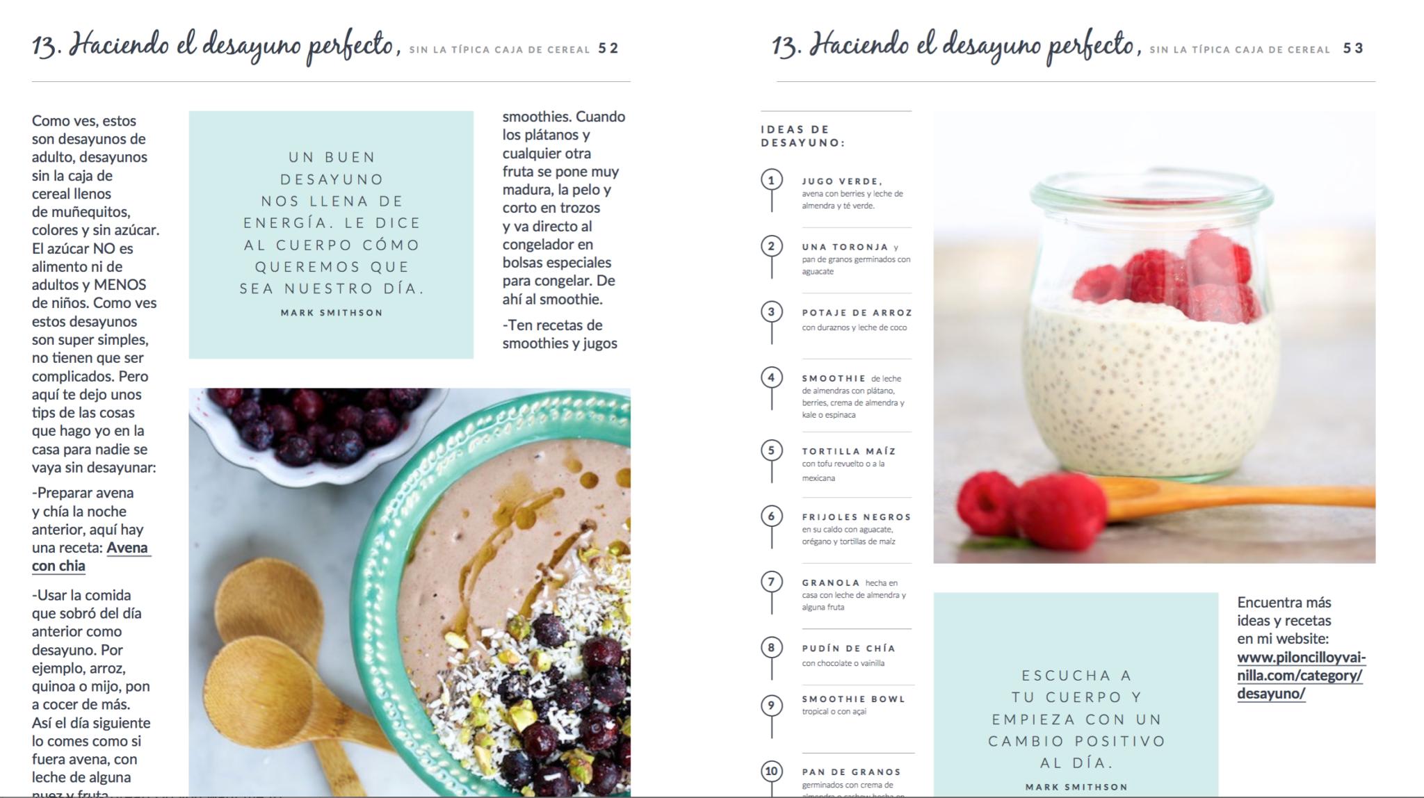 Sientete bien, comiendo bien, es el e-book que te va organizar tu manera de comer .