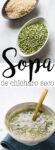 Receta de sopa de chícharo seco. Fácil y rápida. LA puedes hacer en la instapot o sosbre la estufa.
