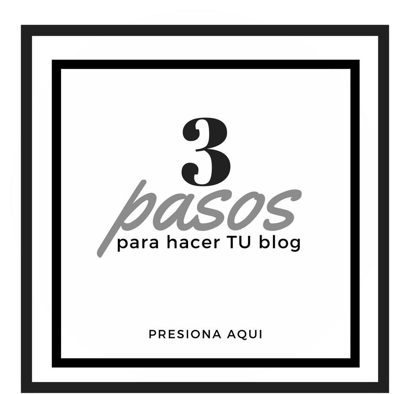 Como hacer un blog en tres pasos
