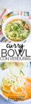Curry rojo con verduras en 5 minutos