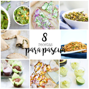 Receta perfecta para celebrar pascua, ocho recetas de pascua.