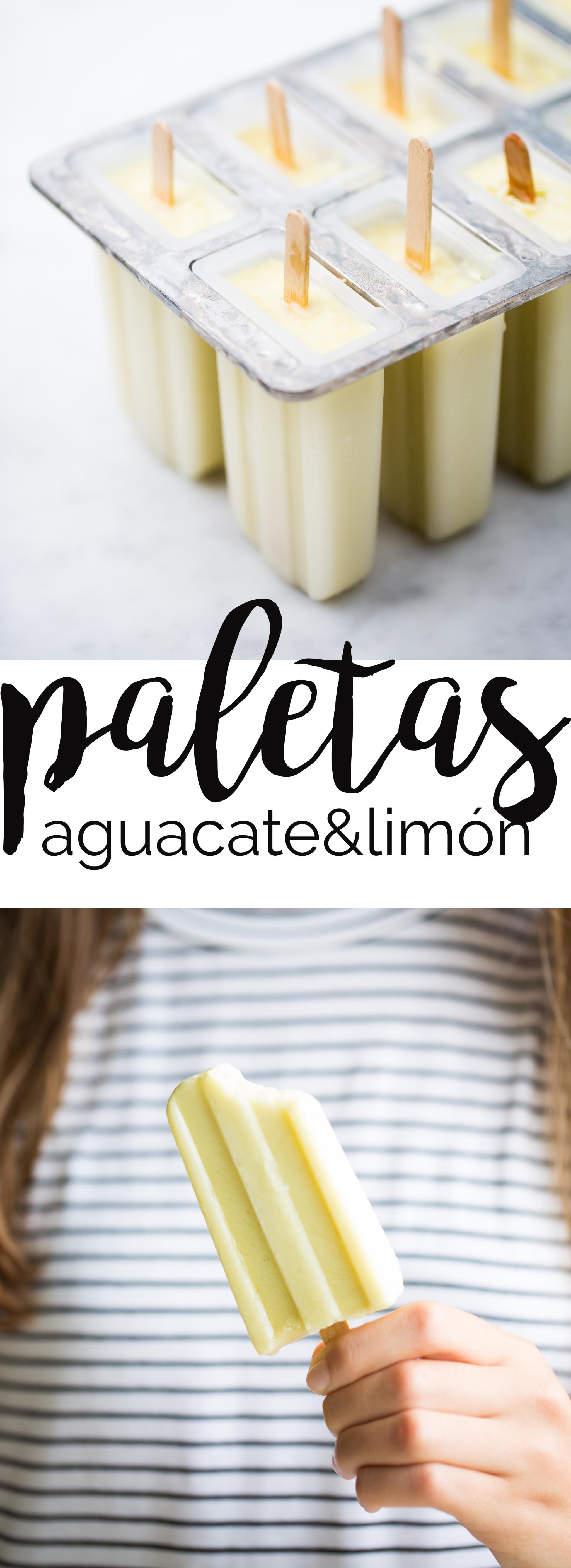 Receta deliciosa y super saludable de aguacate y limón. Son el balance perfecto entre sabor y nutrición.