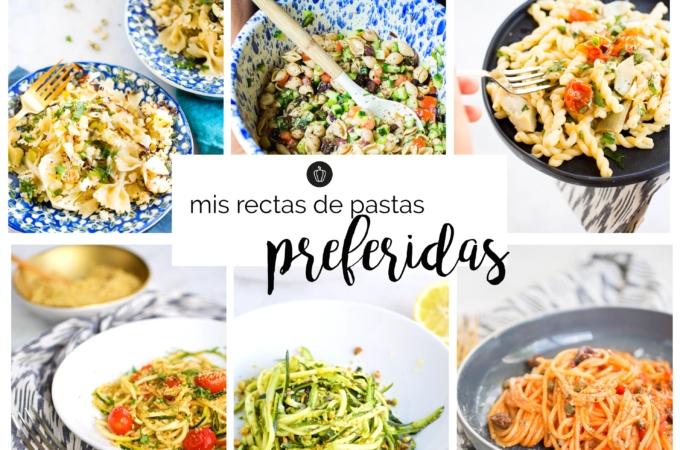 Mis recetas de pasta nutritivas y preferidas