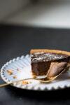 Recipe for creamy chocolate vegan pie.