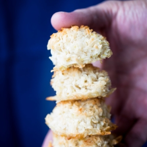 Recipe for vegan lime macaroons