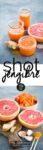 Shot de jengibre