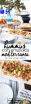 hummus con ensalada