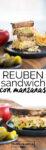 Reuben sandwich con manzanas