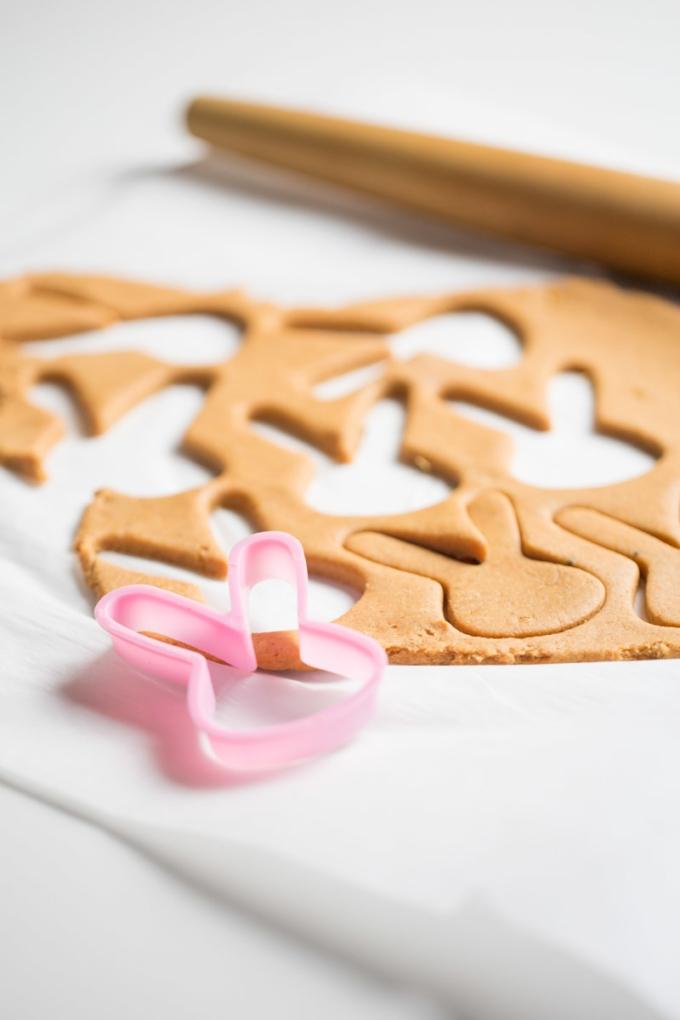 galletas siendo cortadas