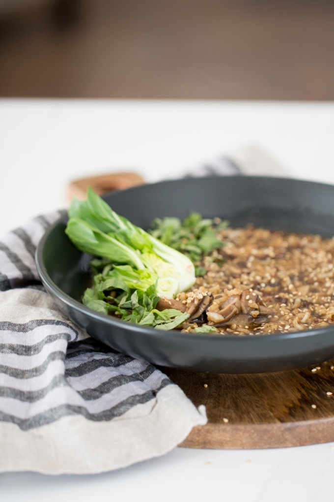 congee, potaje de arroz