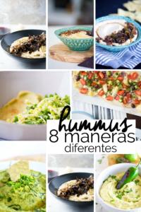 8 maneras diferentes de preparar un hummus