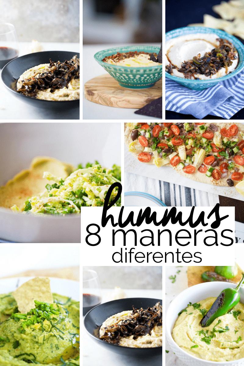 8 recetas de hummus