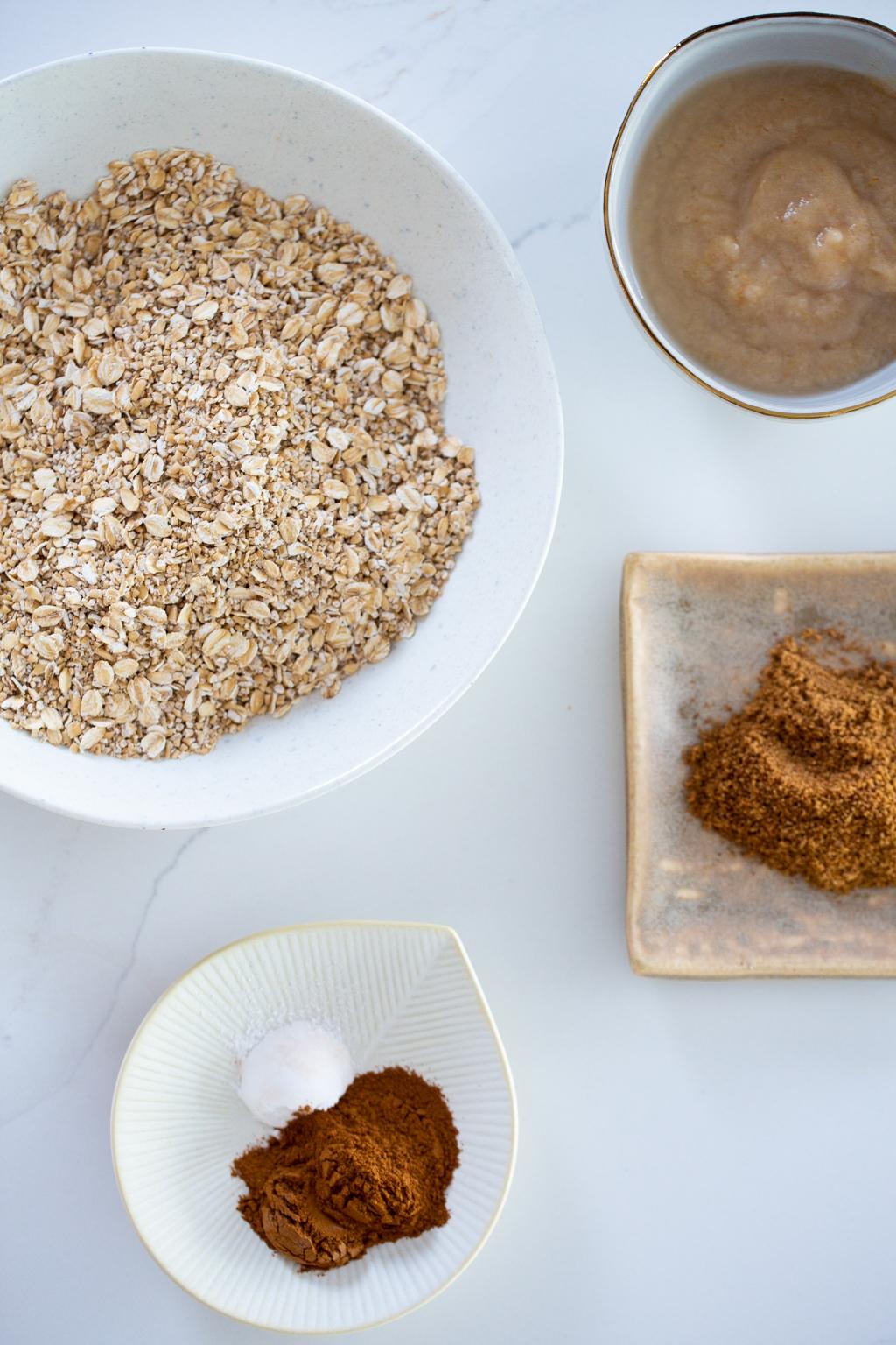 ingredientes para hacer pancakes de desayuno